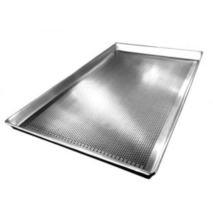 Assadeira Alumínio Perfurada 0,8 - 58x70cm