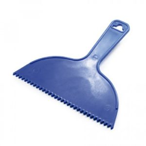 espatila de plastica dentada 300x300 - Espatula Azul Tigre Dentada