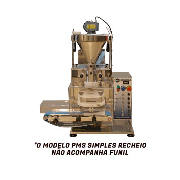 modeloadora pms 2 600x600 - Modeladora de Salgado PMS - 10.0 - Simples Recheio