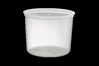 pote plastico 770 - Pote Plástico com Tampa 4L (770)