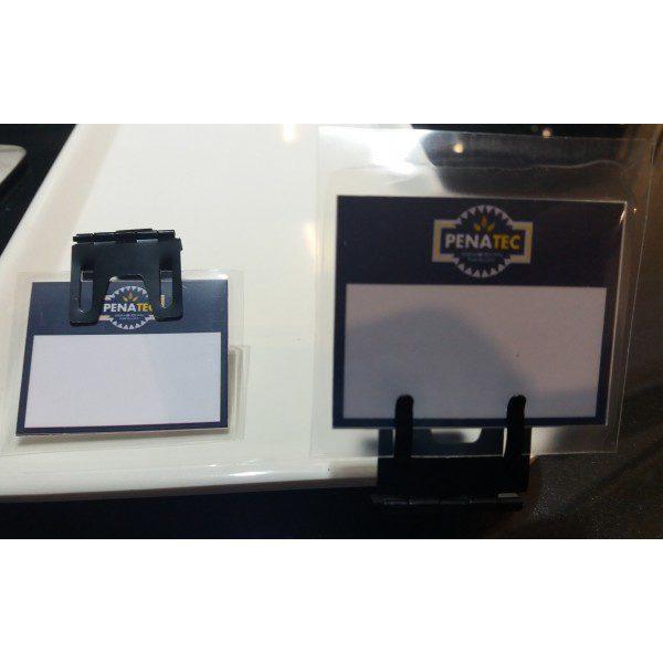 thumb 600 600 20180626 110302 600x600 - Suporte de preço Metal Preto (PACOTE COM 10 UNIDADES)