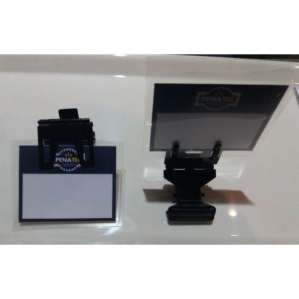thumb 600 600 20180626 110404 600x600 - Suporte de preço Metal Preto (PACOTE COM 10 UNIDADES)