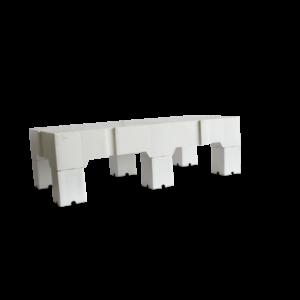 thumb 600 600  mg 0928 300x300 - Estrado Plastico Branco 41x82x13cm