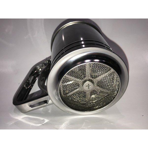 thumb 600 600 pulverizador com gatilho inox peso300g med 16x13x10cm 1 600x600 - Polvilhador Inox com Gatilho